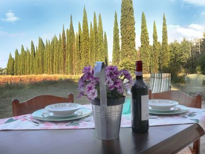 Photo for B&B in Villa in Montespertoli with garden and parking