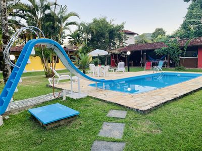 Photo for House Itamambuca high standard, pool, 3rd beach house, Wi-Fi, 4 bedrooms