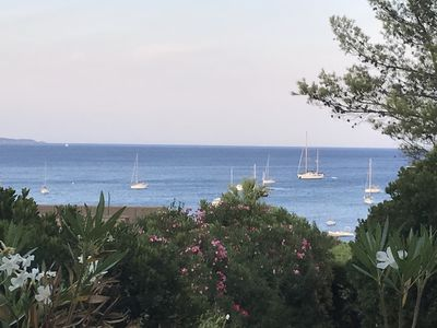 Photo for House Gaou Bénat sea view sleeps 10 to 3 minutes from the sea
