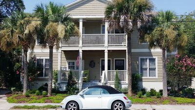 Photo for 3BR/2BA Lower Duplex Apt - 1 Small Dog OK - Historic Downtown Saint Augustine