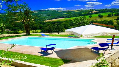 Photo for Sleeps 10, Todi By The Pool, 3 kms to Todi central - a beautiful walk !