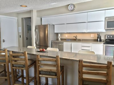 Photo for NICE CONDO! Great Location/Reviews, Hot Tub, 2 Bd, Walk or free bus to peak 8!