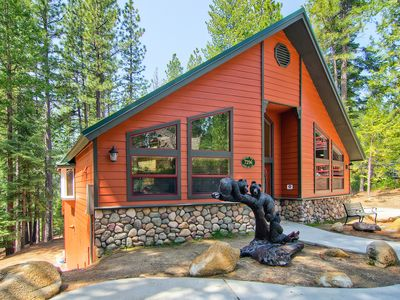 Photo for Heaven on Earth NOW WITH AIR CONDITIONING!!! Surrounded by sugar pine trees, Serenity Pines is fi...