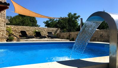 Photo for Stone house villa with modern facilities, pool & free Wi-Fi