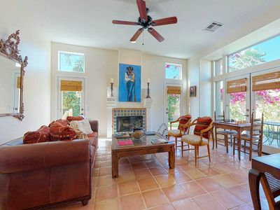 Photo for Spanish-style charmer w/ a private pool, spa, enclosed yard, & mountain views