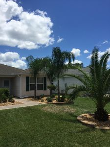 You will be welcomed to our home with blue skies and palm trees!