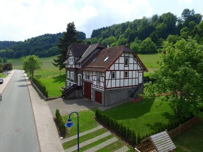 Photo for Beautiful apartment near Willingen in the Sauerland with terrace and use of the garden