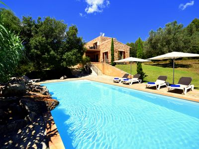 Photo for Cozy Finca Fidevera with private pool and garden in a great location near Artà