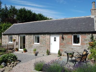 Photo for Acorn Bothy cottage in glorious Aberdeenshire ideal for couples or singles