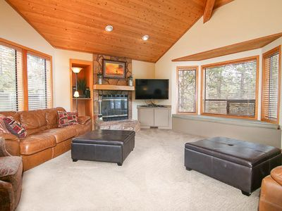 Photo for Large Dog Friendly Home w/ Private Hot Tub, Golf Course Views, & SHARC Passes