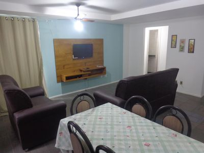 Photo for Suitable furniture. 3 qtos .C / 2 Suites - wi-fi - 1 GAR.-the hill beach