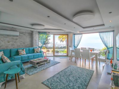 Photo for Bodrum Villa with Panoramic Sea Views