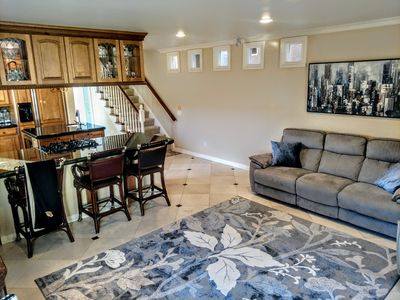 Photo for Beach Elegance in Prime HB Location w/ Rooftop Hot Tub w/ Ocean Views and AC!