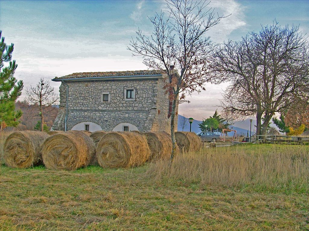 Stone Farmhouse Surrounded Restored Meadows And 807025