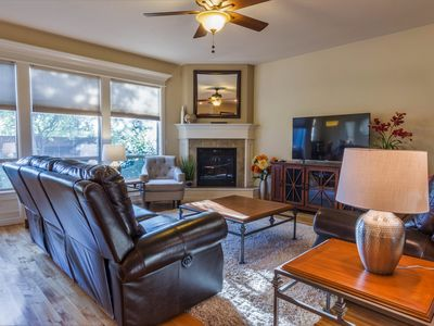 Spacious Designer Home w/Hardwoods, Granite, Stainless, Covered Patio, 3 pools.