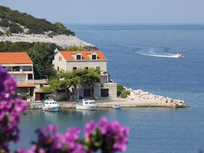 Photo for Studio appartment in Zaklopatica (Lastovo) capacity 2+1
