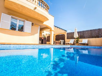 Photo for Mandia - Cozy cottage with pool in Cala Mandia