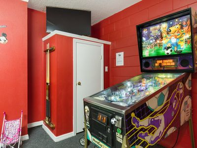 Photo for Emerald Island Resort Pool Home with Wifi and Games room with pinball machine