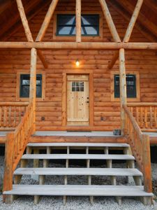 Photo for NEW RENTAL: Log Cabin in Picture Perfect Jackson, NH - close to Storyland
