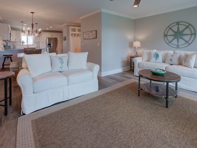 Photo for Luxury Ocean View Condo! 100 ft From Beach! Comm Pool! Poolside Balconies!