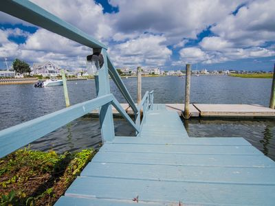 Photo for Waterfront with Dock and breath taking views of  Bass River beyond to Nantucket Sound