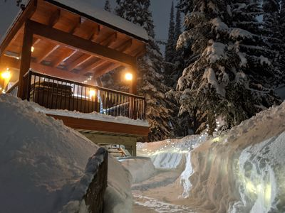 """Photo for The """"Eh"""" Frame at SilverStar- March & April Availability, Sleeps 5, Hot Tub"""