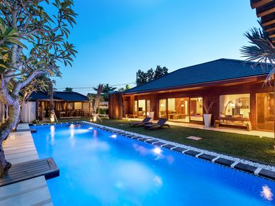 Photo for Strategic and Classic 3BR Family Villa at Seminyak