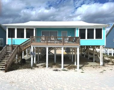 Photo for Beach Dreams - Beautifully Decorated 4 br / 2 ba Gulf Front Private Beach Home, Sleeps 10