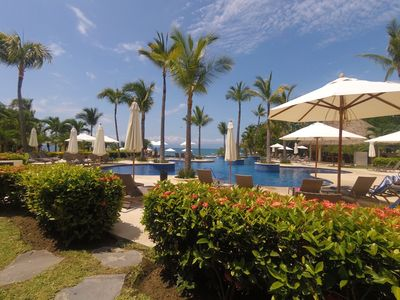 Photo for Charming Condo ♥ Private Beach ♥ 2 Infinity Pools ♥ Stunning Views