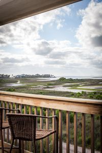 Terramar Beach home with views of Galveston Bay and wetlands!