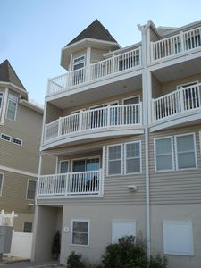 Photo for Clean 4BR 3.5 bath condo a block away from the beach In Seaside Heights NJ