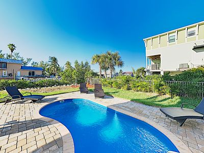 Photo for New Listing! New & Stylish Canal Home w/ Private Pool & Dock, Kayaks
