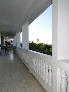 Large wrap around verandah to enjoy the views and trade winds.