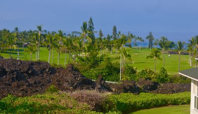 View from Master Bedroom Lanai - Townhome J 2, Na Hale O Keauhou