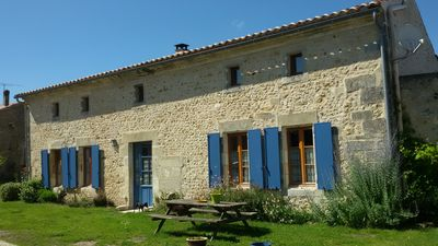 Photo for Charentais house in Upper Saintonge for spa guest or family.