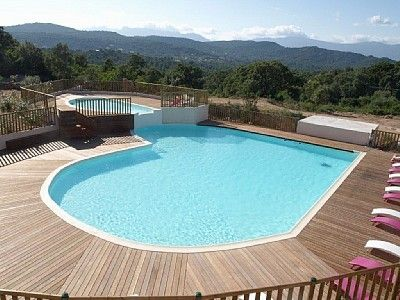 Photo for Walk-new in charming residence with 300m² swimming pool in Porto Vecchio