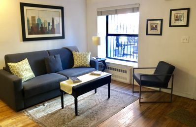 Photo for Top-rated 1 BR Apt with private entrance - 15 min to midtown/Times Square