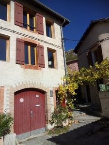 Photo for La Cigale, a charming apartment in middle-age village South of France