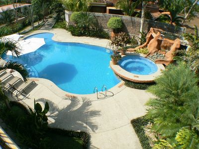 Photo for Gorgeous 3 Bed Villa with Beachfront Pool Jaco Beach :)