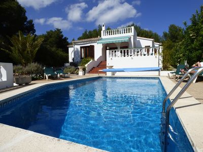 Photo for Delightful Villa with Private Pool that can be heated