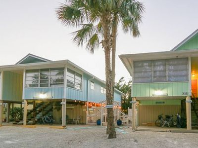 Photo for Enjoy your vacation in this tropical oasis located on the north end of Fort Myers Beach.
