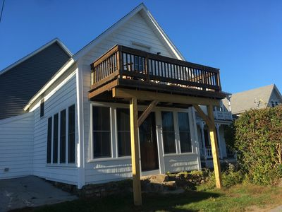 Photo for Beautiful Beach View Cottage Steps Away From Short Sands Beach.Completely Redone