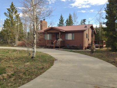 Photo for Great home in Columbine Lake! Sleeps 6 and plenty parking for outdoor toys!