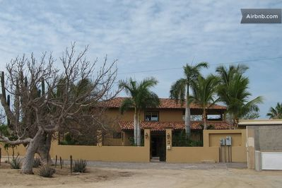 Front of house- Casa Cabo Vista. Our home away from home