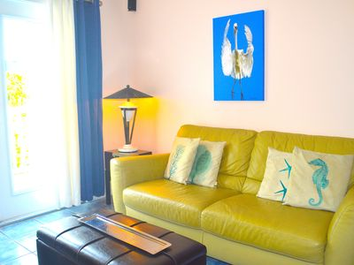 Photo for END SUMMER SALE! $169/NT,3 Bikes!Walk/Bike Everywhere, 2 Porches, Parking, Pool