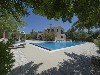 Photo for Amazing  Unique Villa Huge Colourful Gardens & Pool (7x14m) Walking to the Beach