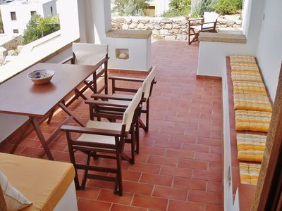 Photo for PATMOS HOUSES-Villa Principessa a few meters from the sea, breathtaking view