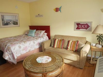 Photo for The Oceanic, Studio Close to the Beach and Downtown with a POOL!