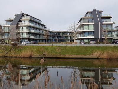 Photo for Holiday appartment waterfront-nieuwpoort
