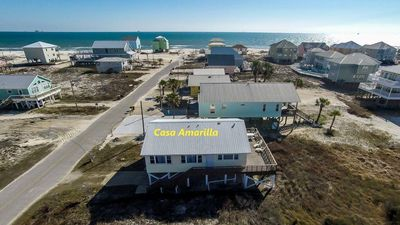 Photo for One story 3 BR, 2 BA beach view w/ expansive deck!